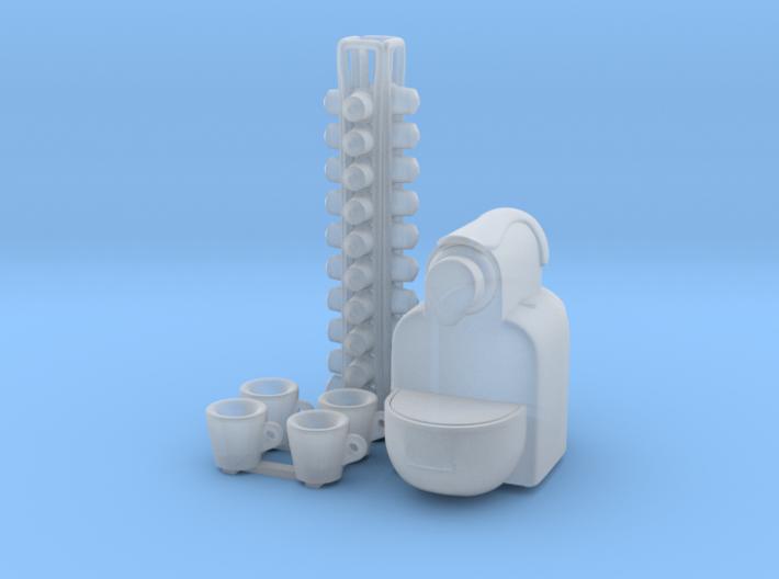 Coffee Machine 01. 1:12 Scale 3d printed