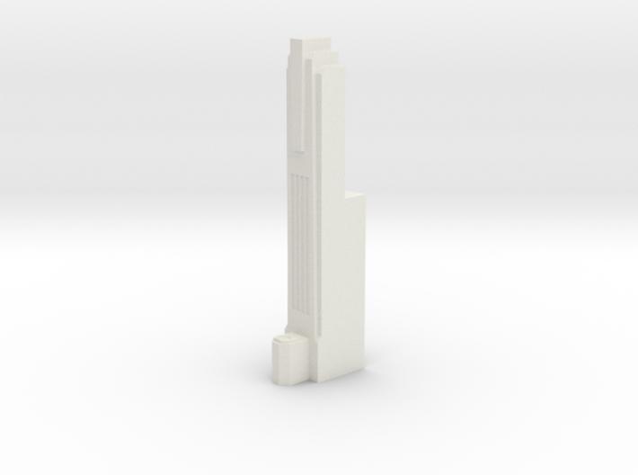 Triple Underpass East Roadway Pillar 3d printed