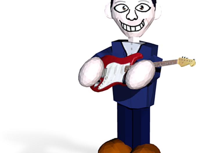 Guitar Man 3d printed