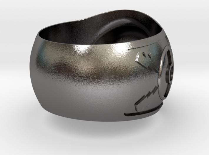 Pokeball ring 26mm 3d printed