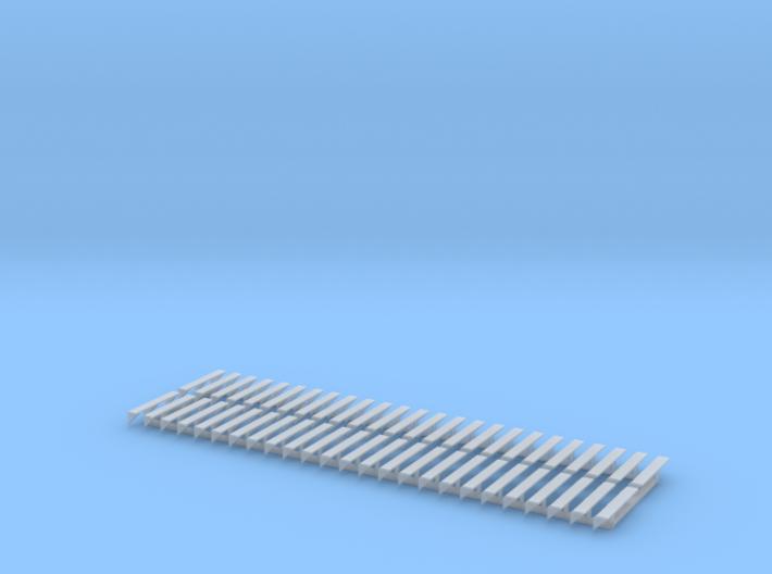 N Hopper Solar Panel Mounts 50pc 3d printed