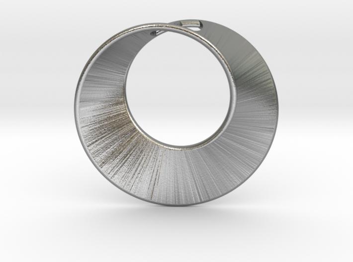 Mini Mobius pierced 3d printed