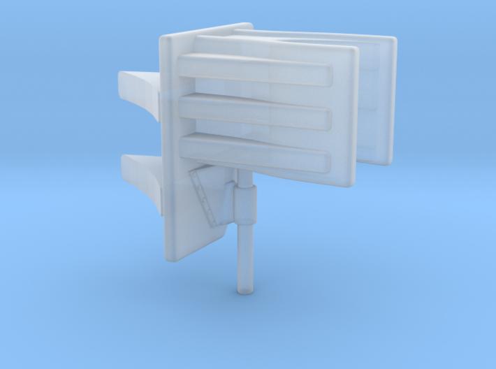 1/48 Uboot Schnorkel Support 3d printed
