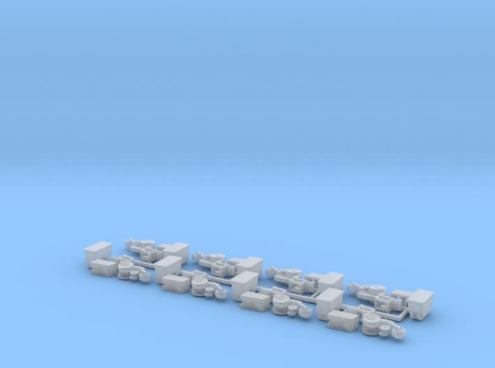 Case IH 1200 Row Unit w/ Standard Hopper (8) 3d printed