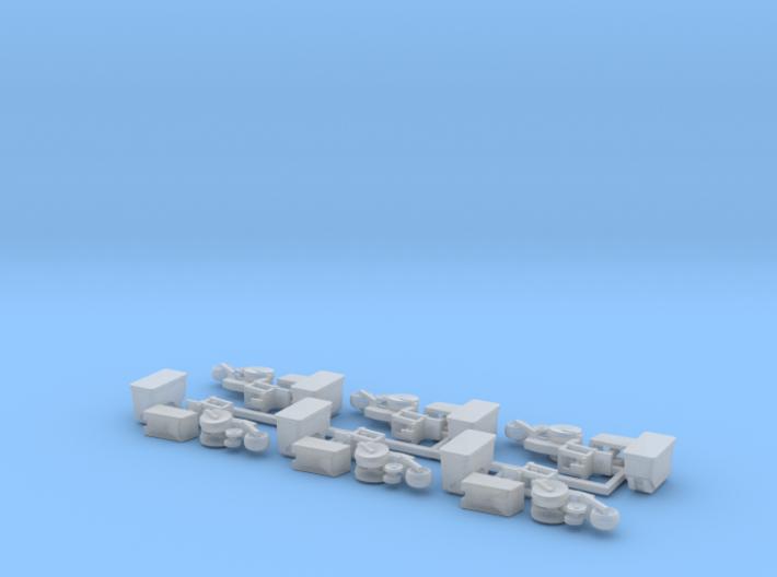 Case IH 1200 Row Unit w/ Standard Hopper (6) 3d printed