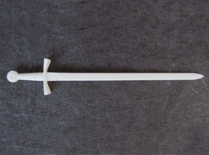 Crusader Sword - 1:3 3d printed