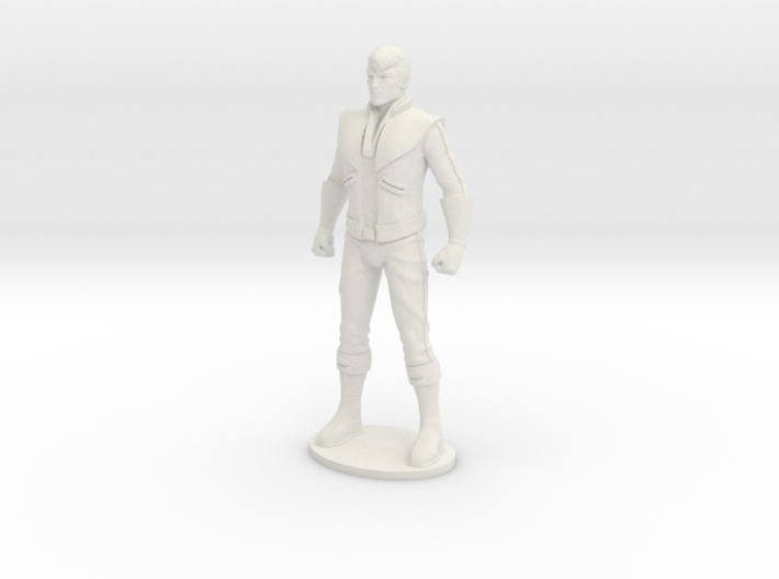 Spike 33.7mm Tall (Titan Master Scale) 3d printed