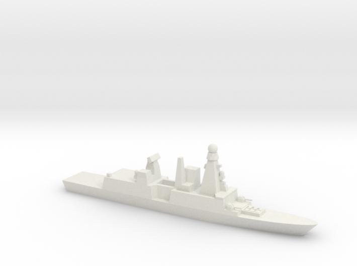 Forbin-Class Frigate, 1/1250 3d printed