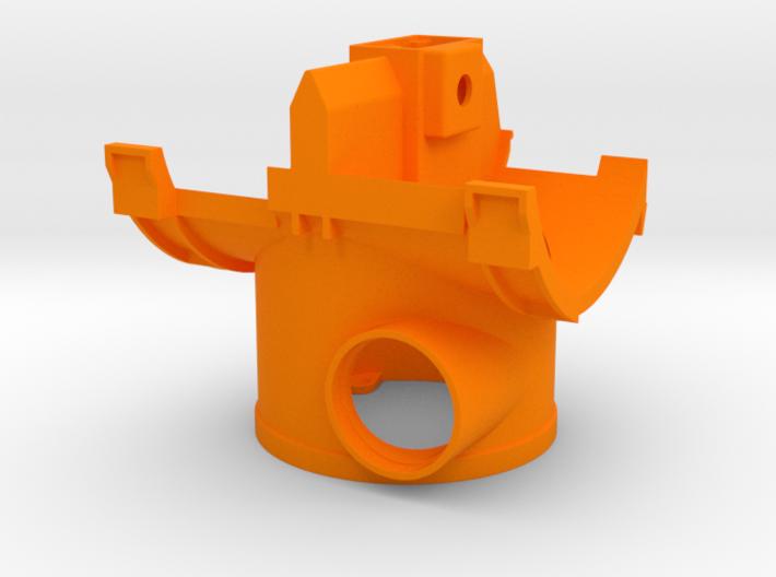 Wurfradgehäuse für Doppelschleuder (Bruder Umbau) 3d printed