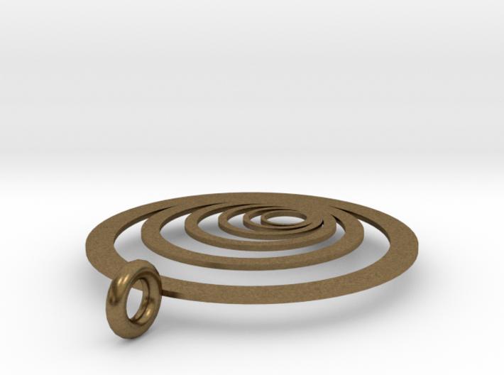 Moon Rings 3d printed