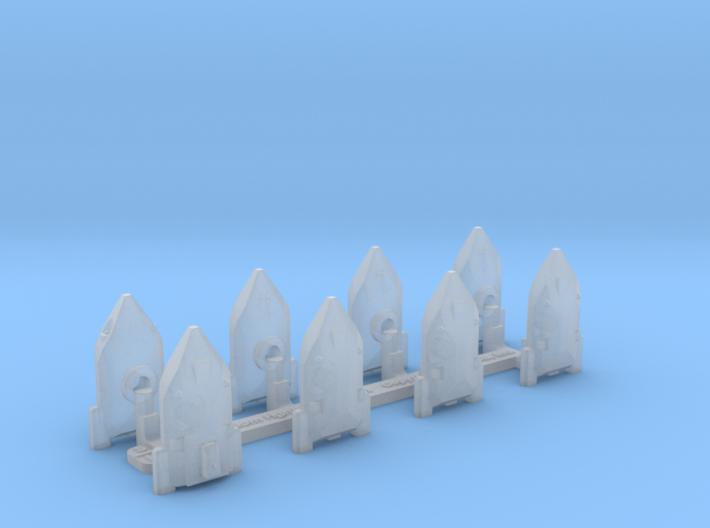 Omni Scale WYN Freedom Fighter Gunboat Flotilla SZ 3d printed