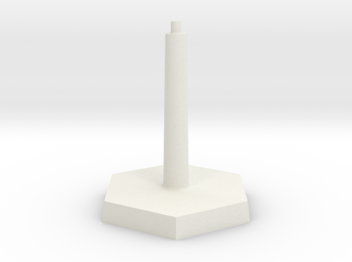 Omni Scale Stand Single Flight Stand WEM 3d printed