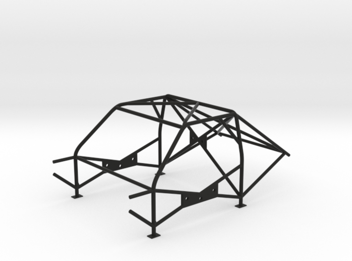 Roll Cage - M3-FIA-Style - 1/10 3d printed