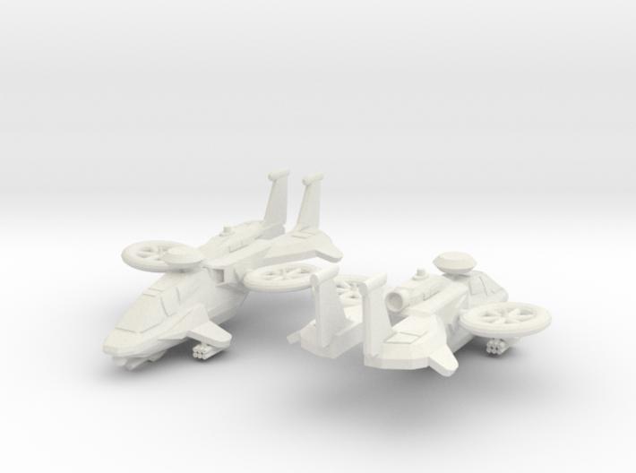 ARVX-1B Arapaho (LAGM) x2 3d printed