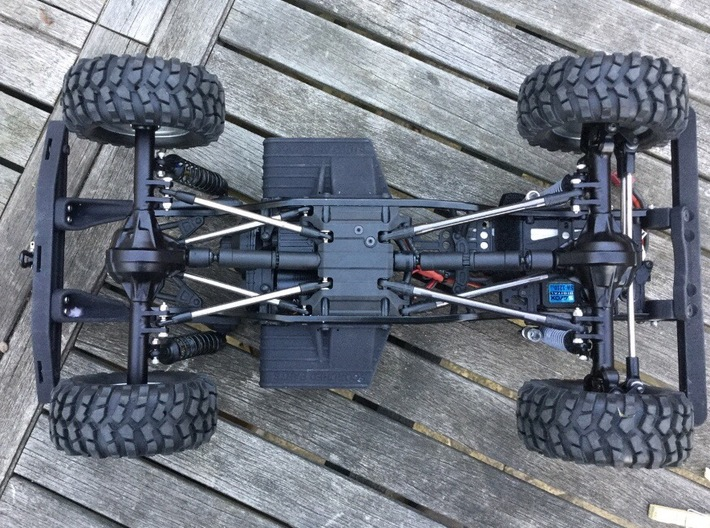 Raffee Defender D90 / SCX10 Electronics Mounting P 3d printed