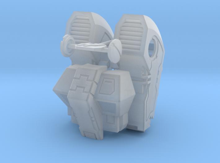 Standard Mech Booster Packs and Torso 3d printed
