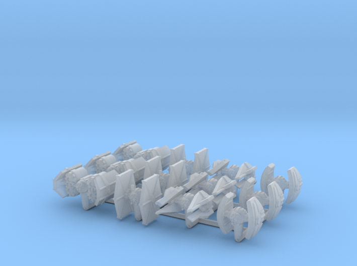 (Armada) Imperial Fighters Set II 3d printed