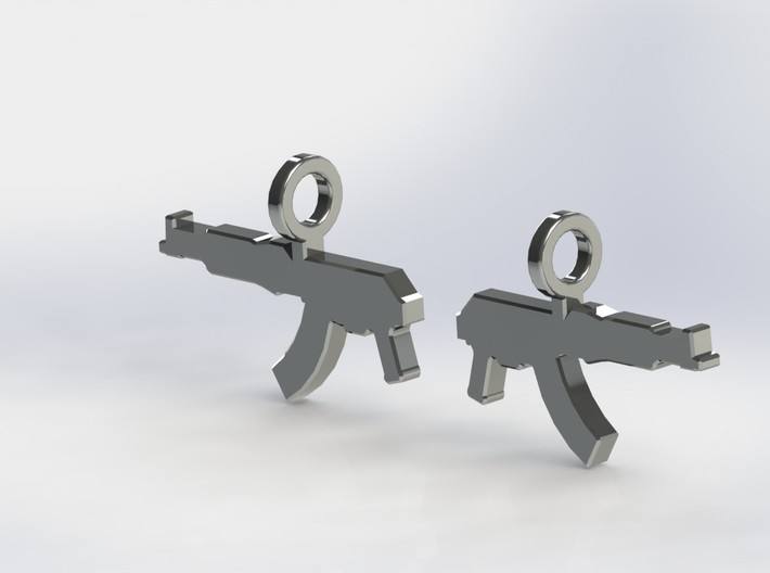 AK KRINKOV DANGLES (FIT 14 GAUGE JEWELRY) 3d printed