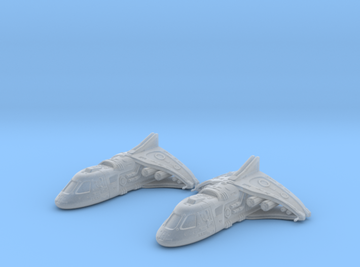 Ancient Shuttle set: 1/700 scale 3d printed
