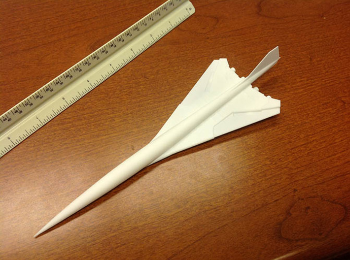 BOEING SST 2707 1/400 3d printed Add a caption...