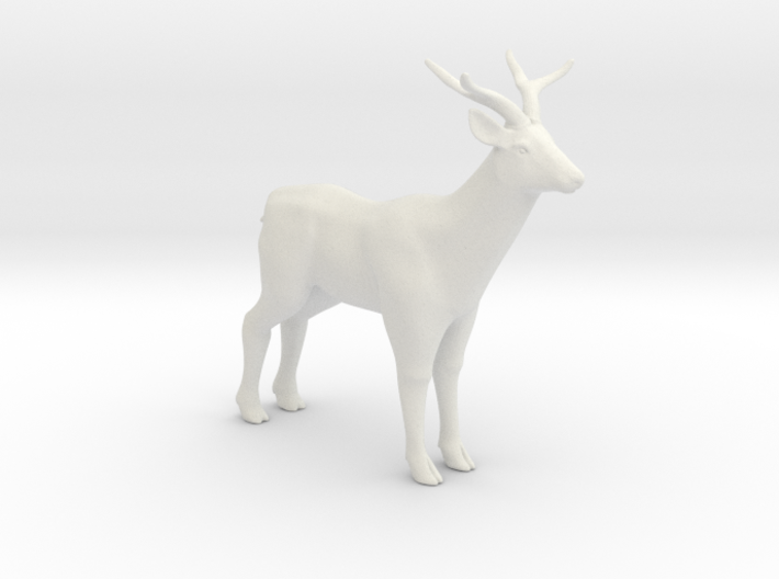 Printle Thing Deer - 1/24 3d printed