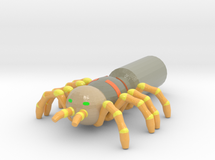 Giant Spider Pencil Flag 3d printed