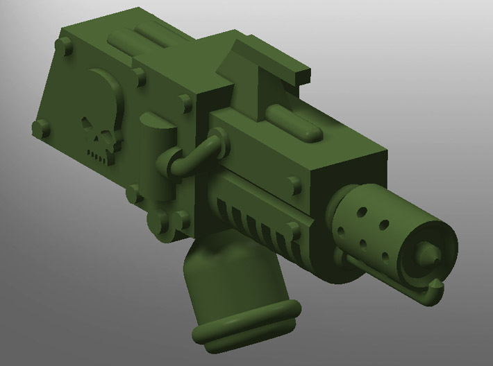 Human-sized Flamethrower x5 3d printed
