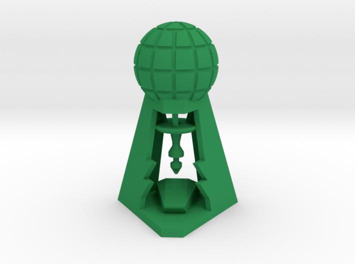 Laboratory token 3d printed
