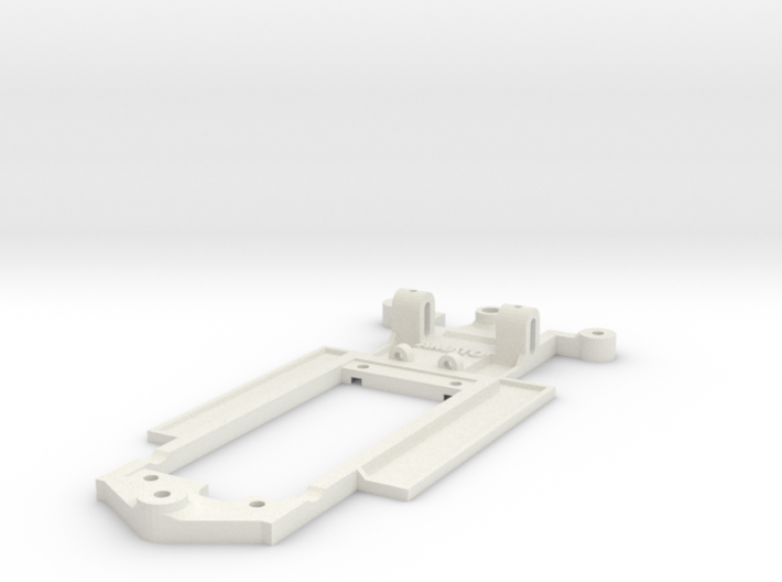 Chassis for SCX Peugeot 206 WRC 3d printed