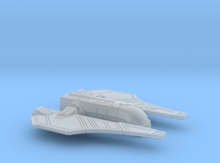 1/270 Mandalorian Aka'jor Shuttle 3d printed