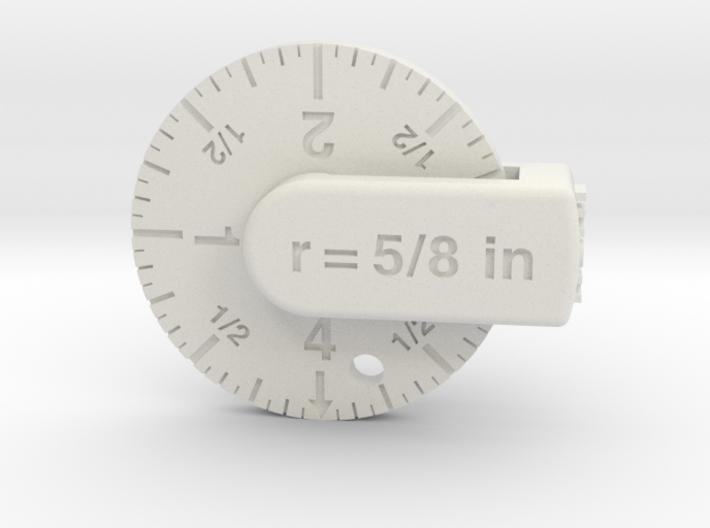 S ruler 3d printed