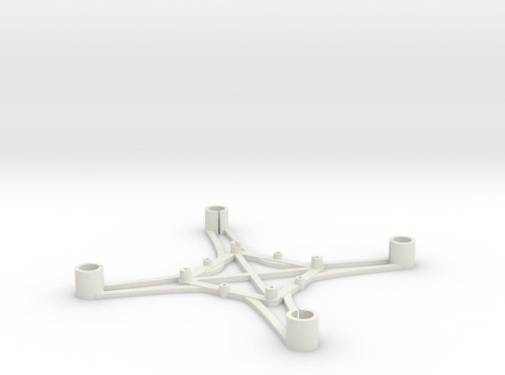 ST_drone_frame_v1_r6_btm_t2030+ 3d printed