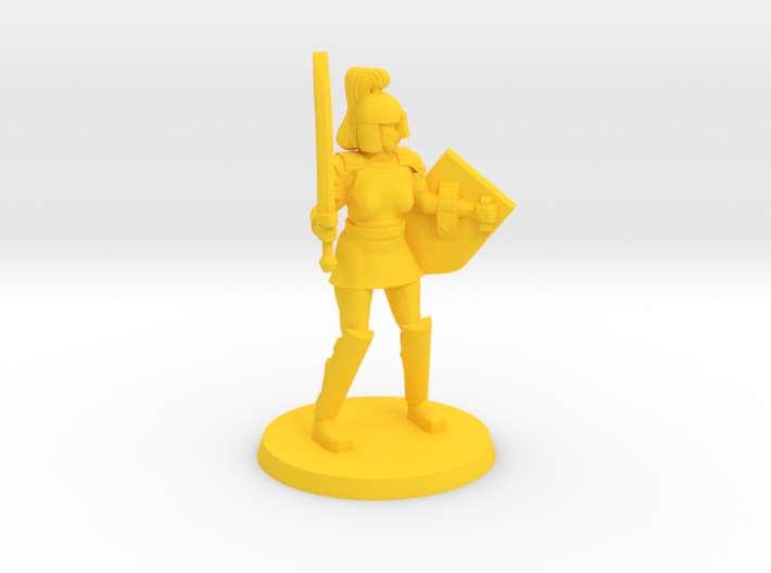 Istrid the Crusader 3d printed