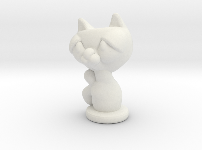 kitty 3d printed