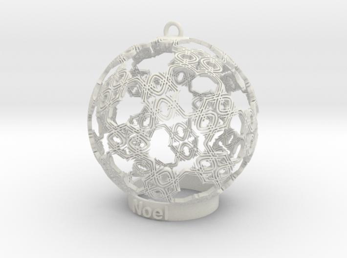 noel Ornament 3d printed