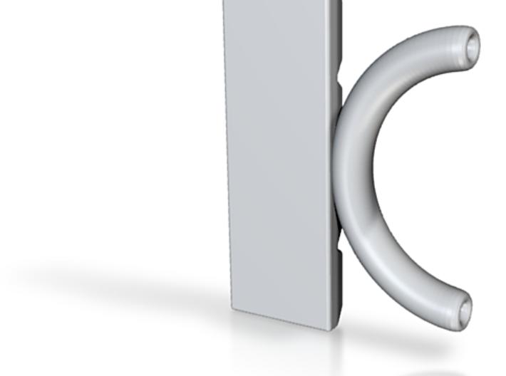 Choc - Statement Pendant2 3d printed