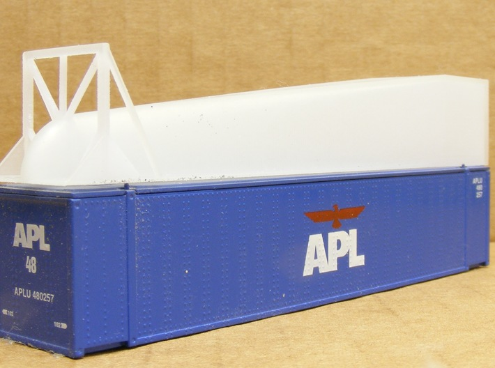 ArroWedge Container Load - Nscale 3d printed