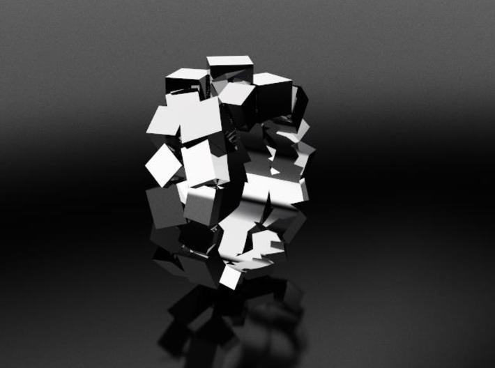 Prism Double Ring (from $15) 3d printed elegant and contemporary ring