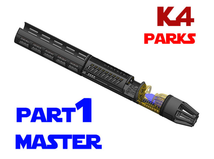 Korbanth / Parks K4 - Master Chassis Part1 3d printed