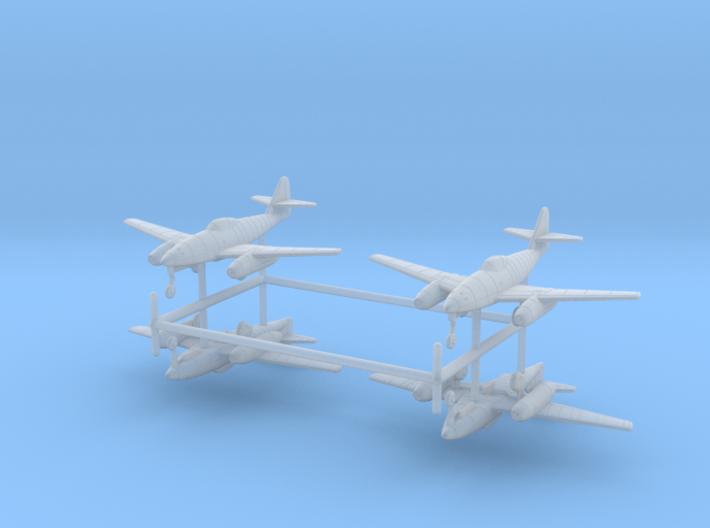 1/350 Messerschmitt Me-262 (x4) 3d printed