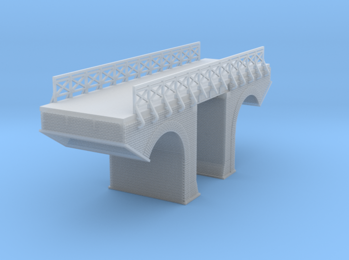Polish Arched Bridge 4 Z Scale 3d printed Polish Arched Bridge Z scale
