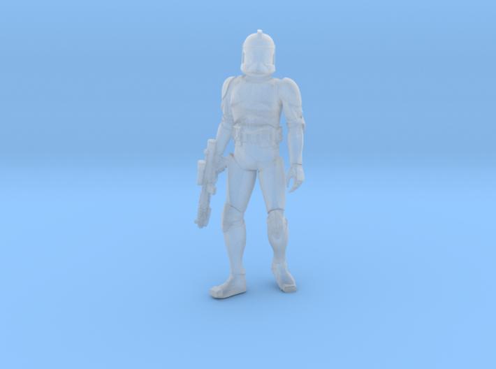 1/48 Trooper Walking 3d printed