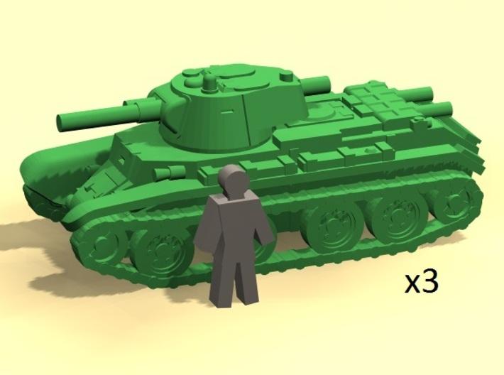 6mm BT-7 fast tank 3d printed