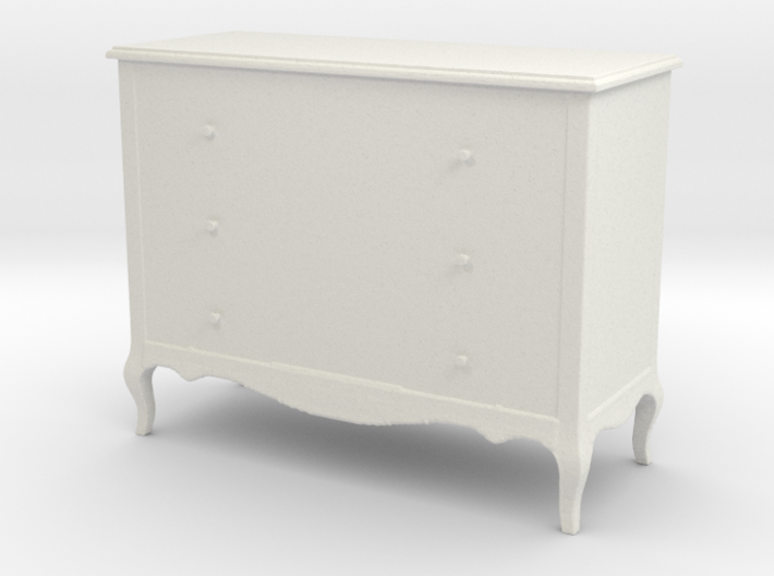 Printle Thing Chest of drawers 01 - 1/24 3d printed