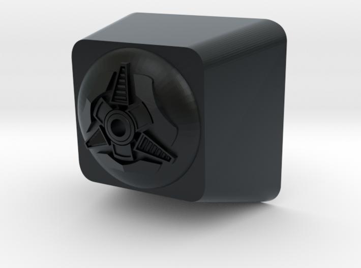 Cyber Cherry MX Keycap Surround 3d printed