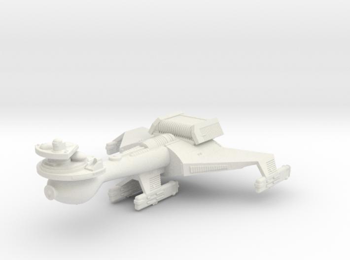 3788 Scale Klingon B10B Battleship WEM 3d printed