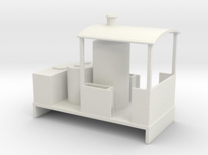 Freelance Vertical Boiler Locomotive 2 3d printed