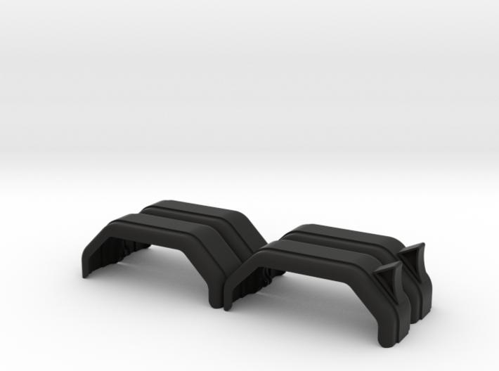 Kotflügel Doppelachse li re Anhänger 3d printed