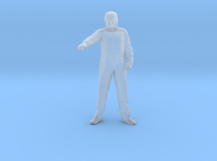 HazMat Hank Arm Up (S) 3d printed