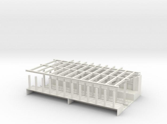 HO SCALE SUBWAY STATION 3d printed